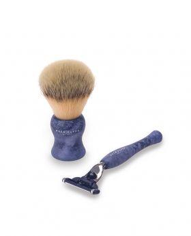 剃鬚組合 (藍色)